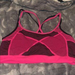 Champion at Target Neon Pink & Black Sports Bra